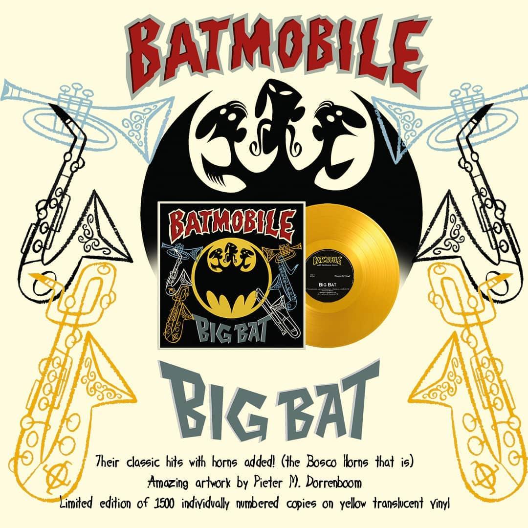 """BATMOBILE - BIG BAT 10"""""""