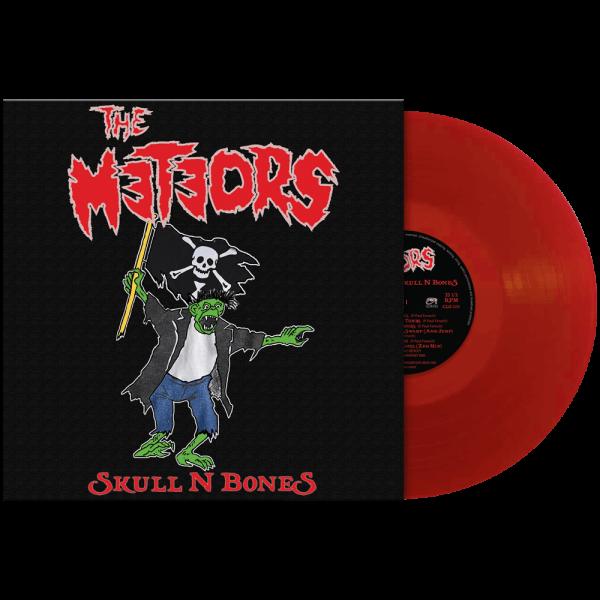 The Meteors - Skull N Bones (red vinyl)
